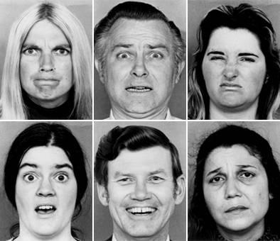 Le espressioni facciali di Ekman sono state riprese dal film Disney Inside Out