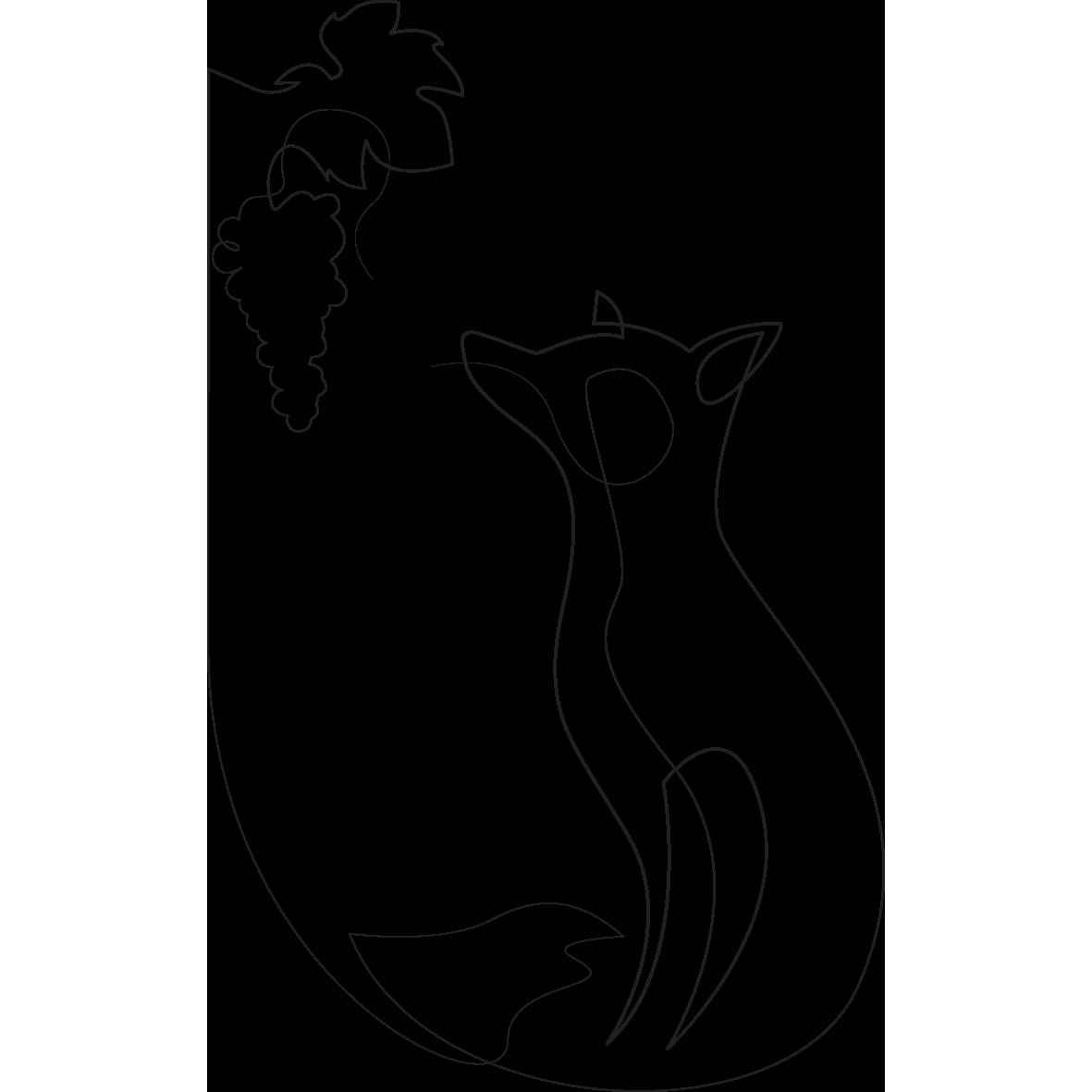 La favola della volpe e dell'uva è un ottimo esempio di come con Esopo si possa spiegare la teoria psicologica con facilità